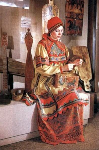 Рукоделие в древней руси